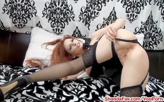 panty stuffing anal creampie!? mother i shanda