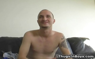 bald white chap acquires facial from dark part6
