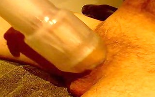 jerking with fleshlight
