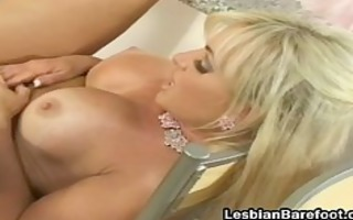 blonde horny lesbian gets screwed part4