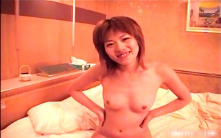 japanese angel receives her curly cunt part0