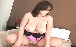 large breasted d like to fuck hoe rides her