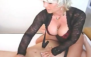 lustful wife sits on his face