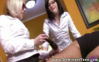he is lastly acquires three-some fun form his