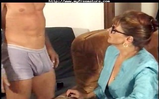 french analed granny at pornoxo