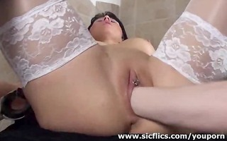 golden-haired d like to fuck fist drilled by her