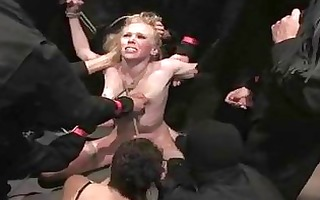 dominated whore acquires a face hole ful...