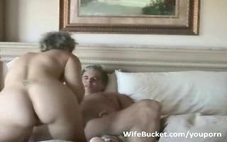 mature pair enjoys home sex