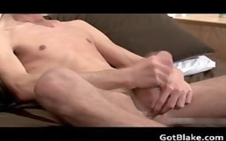 hot luke p stroking his rigid gay knob part0