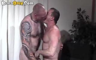tattooed dad pounder feeding frenzy