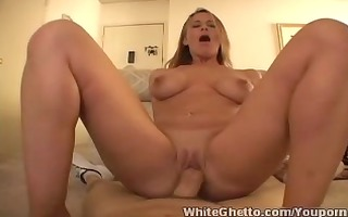 white ghetto - mother i kylie hardcore cumshot