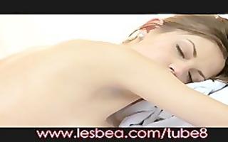 lesbea breasty babe in oil massage