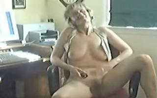 wife teasing the webcam