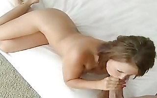 busty wife eva angelina engulfing her husbands
