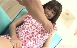 lovely ririka suzukis large scones are teased in