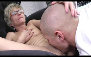 sexually excited older great body with younger lad