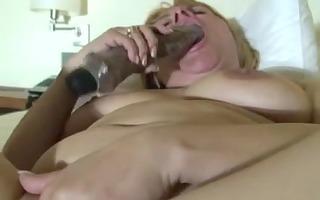 older woman amateur