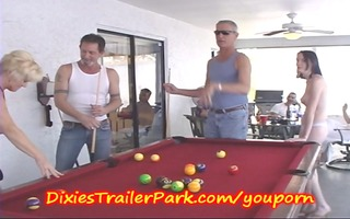 trailer trash pool shooting with mother i and