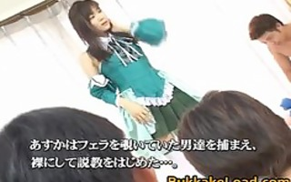 asuka ohzora japanese model in bukkake part5