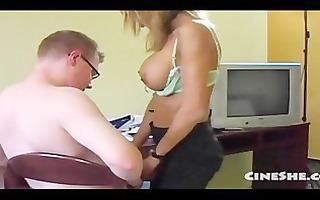 group-sex nina - german secretary in hotel