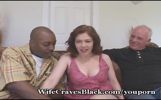 sexually excited wife copulates dark for hubby