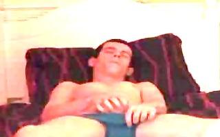 gay boyfriend caught jerking off on spy web camera