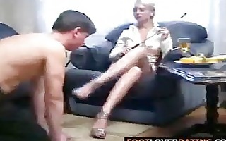 hawt russian foot domination