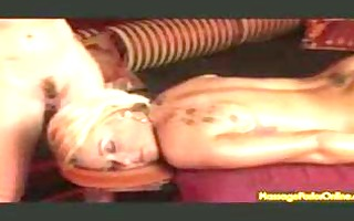 full body to body lesbian massage