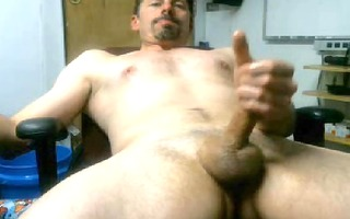 super sexually excited guy cums loud and meaty