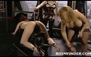 femdom group spank and fuck