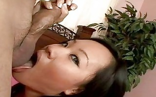 balls licking thai cutie with large pantoons does