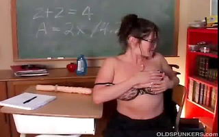 hawt mother i in nylons feels naughty so she is