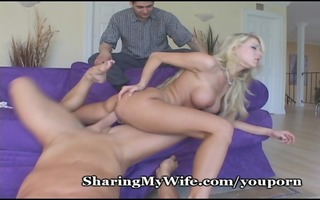 pecker hungry wife receives a real stud