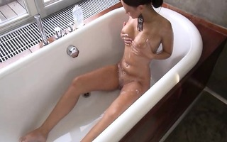 gaping and gyno vibrating her pleasant aperture