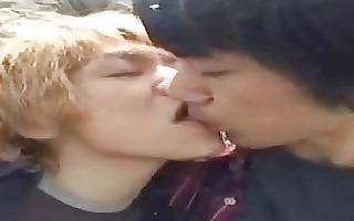 real japanese non-professional homosexual couple