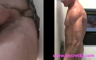 anal sex at homo gloryhole for str guy