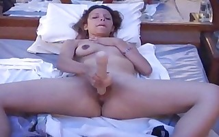 lustful wife in marital-device act