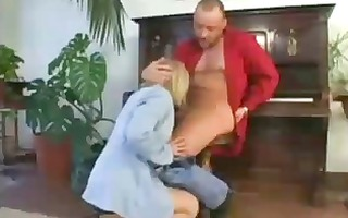 older intimate teacher milf deepthroat choking