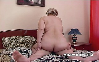 big beautiful woman aged mommy seduces sons friend