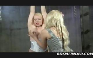 breaking in a blond