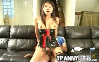 cum hungry asian lady guy