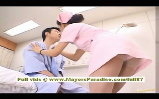 rio oriental hottie does oral and acquires muff
