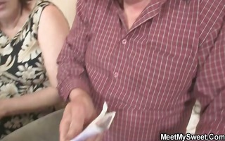 innocent beauty is enticed by granny and fucked