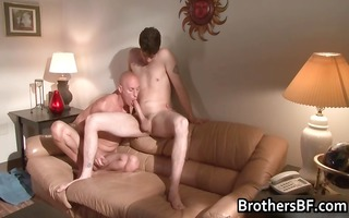 brothers hot boyfriend receives dong sucked