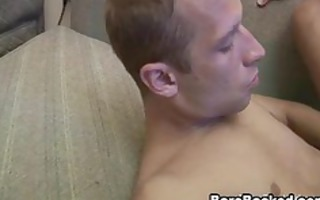 bareback sex out of cock-sock anal fucking