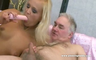 juvenile whore pleases her sugardaddy with her