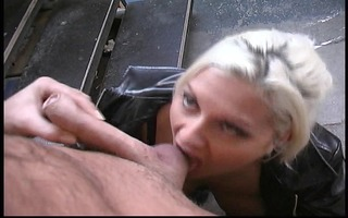 on her knees and screwed hard