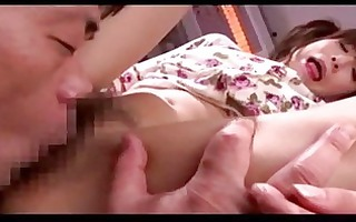 oriental cutie getting her cunt licked fingered