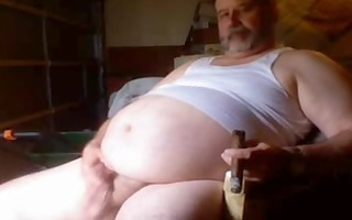 obese cigar dad