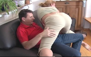 golden-haired with large arse exercises